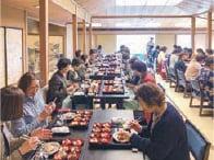 「山乃尾」にて会食