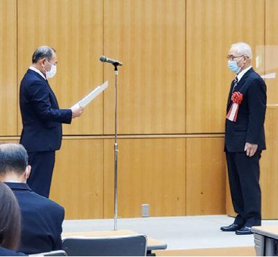 協議会長賞の表彰